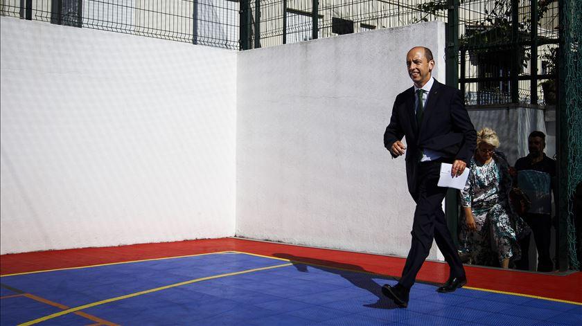 Carlos Vieira abandona a corrida pela presidência do Sporting. Foto: Rodrigo Antunes/Lusa