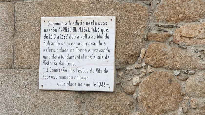 Casa da família de Fernão de Magalhães, em Sabrosa. Foto: Olímpia Mairos/RR