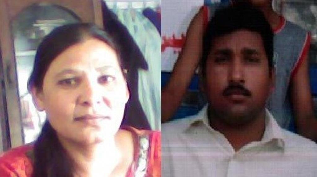 Shaguftah e Emmanuel Masih, casal cristão acusado de Blasfémia no Paquistão. Foto: DR