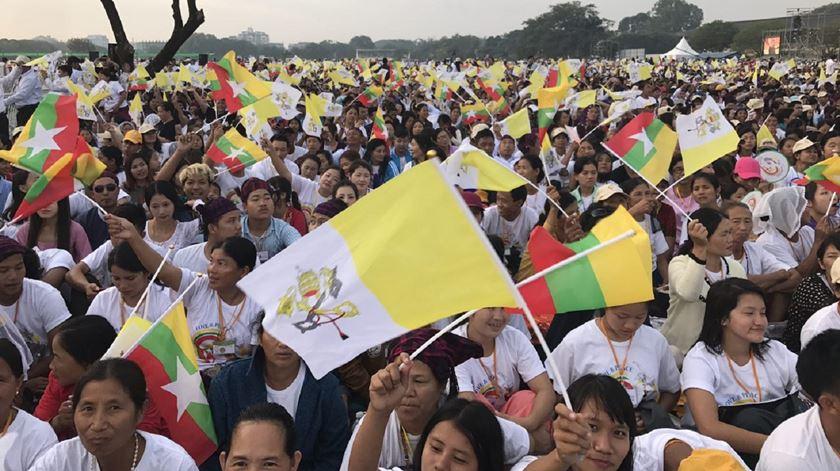 Maioria dos católicos no Myanmar descende de portugueses. Foto: Aura Miguel/RR