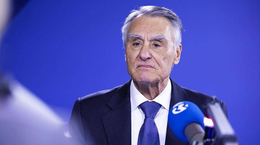 Cavaco Silva sobre o euro.