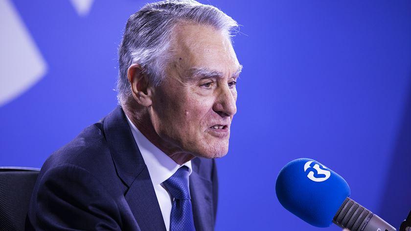 """Cavaco Silva. """"Não sou comentador de televisão"""""""