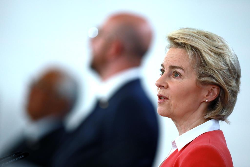 Ursula von der Leyen, Presidente da Comissão Europeia. Foto: Estela Silva/Lusa