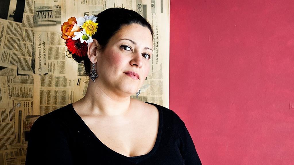 Celina Piedade, uma das artistas que compõe o cartaz. Foto: Câmara Municipal de Serpa