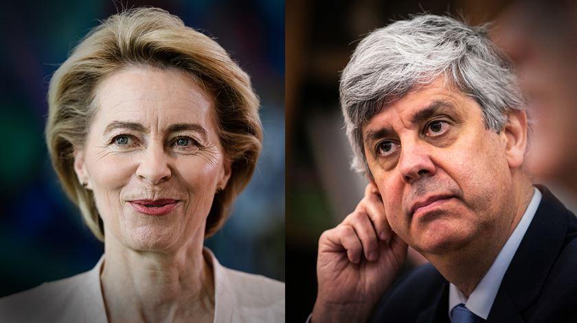 """Dia da Europa em tempos de pandemia. Centeno diz que """"resposta está na Europa"""", Ursula apela à solidariedade"""