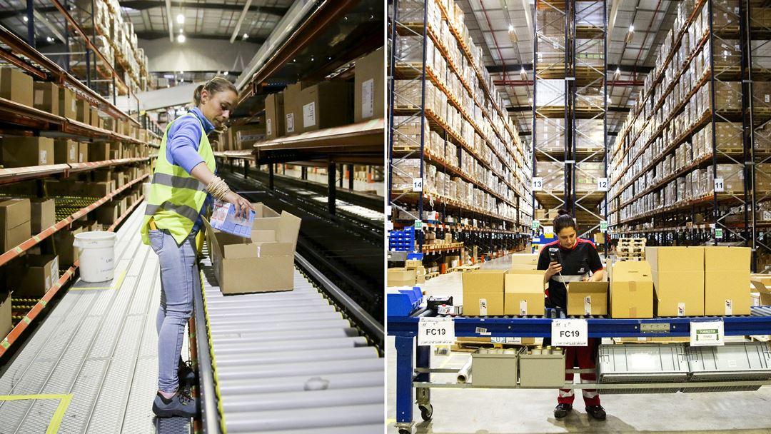 Com 60 clientes, entram e saem todos os dias cerca de 200 camiões dos dois pavilhões da ID Logistics.