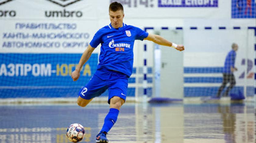 Futsal. Benfica contrata internacional russo