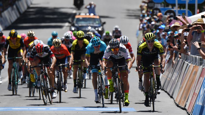 Peter Sagan é o novo líder do Tour Down Under