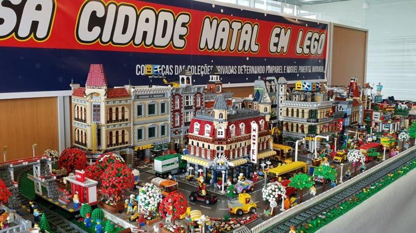 Cidade lego resulta de duas coleções privadas. Foto: Olímpia Mairos/ RR