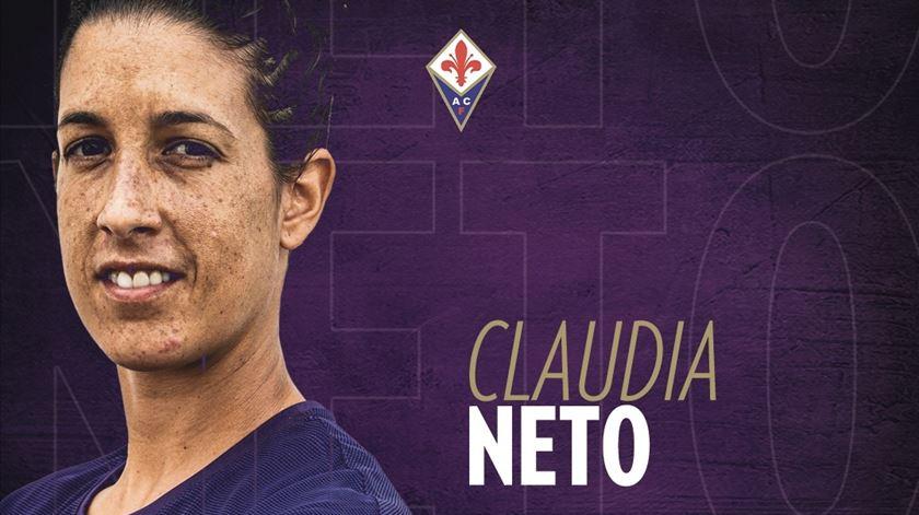 Claúdia Neto é reforço da Fiorentina