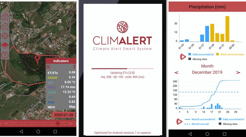 Vem aí uma aplicação para alertar agricultores sobre mudanças climáticas