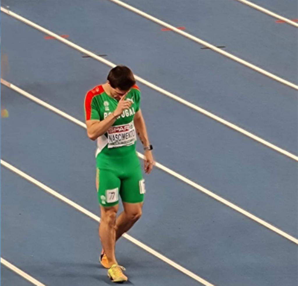 Carlos Nascimento, Atletismo, Europeus de Pista Coberta. Foto: FPA