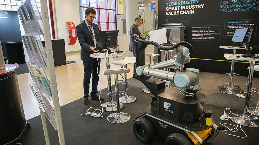 ColRobot desenvolvido no Porto. Foto: INESC TEC