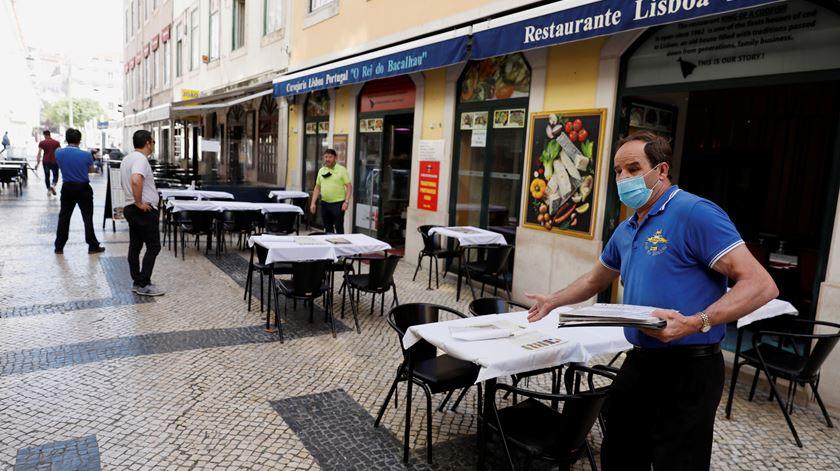 """Descontentamento na restauração em Lisboa: """"Se é para uns, é para todos"""""""