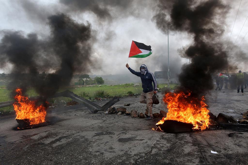 """Cisjordânia reconhecida como """"território ocupado"""" pelos EUA. Foto: Alaa Badarneh/EPA"""