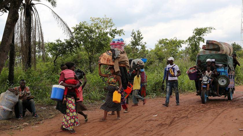 Até 500 mil congoleses já foram expulsos pelas autoridades angolanas. Foto: Giulia Paravicini/Reuters