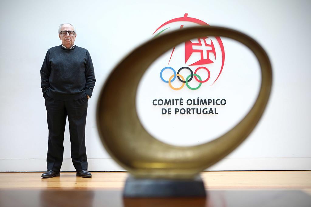 José Manuel Constantino apela para para que o processo de vacinação dos atletas olímpicos seja célere Foto: António Pedro Santos/Lusa