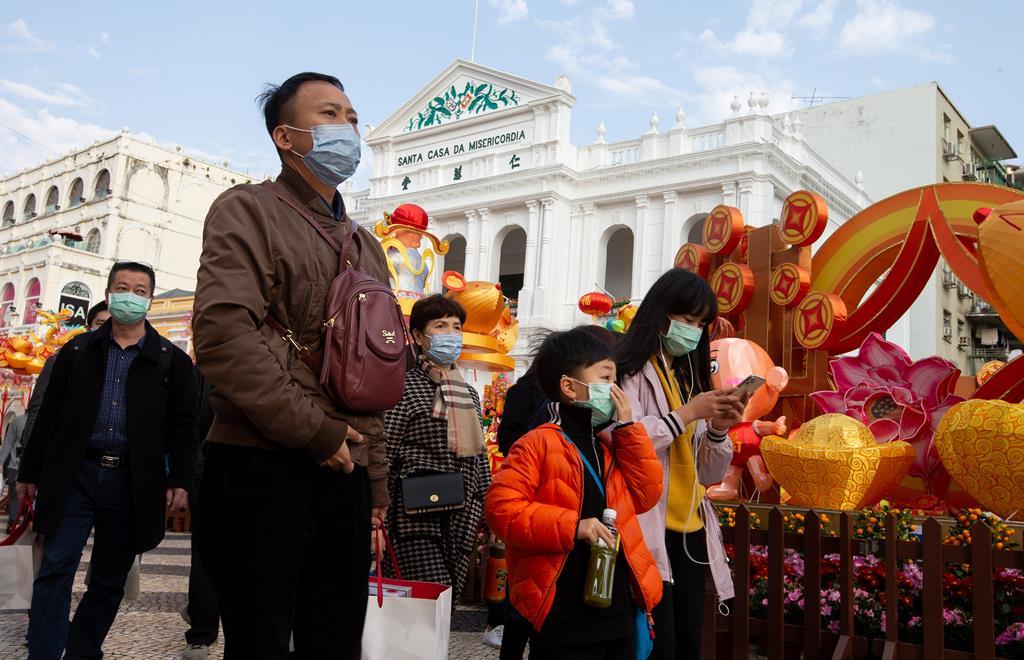 Em Macau, a quarentena é de 21 dias. Foto: Carmo Correia/EPA