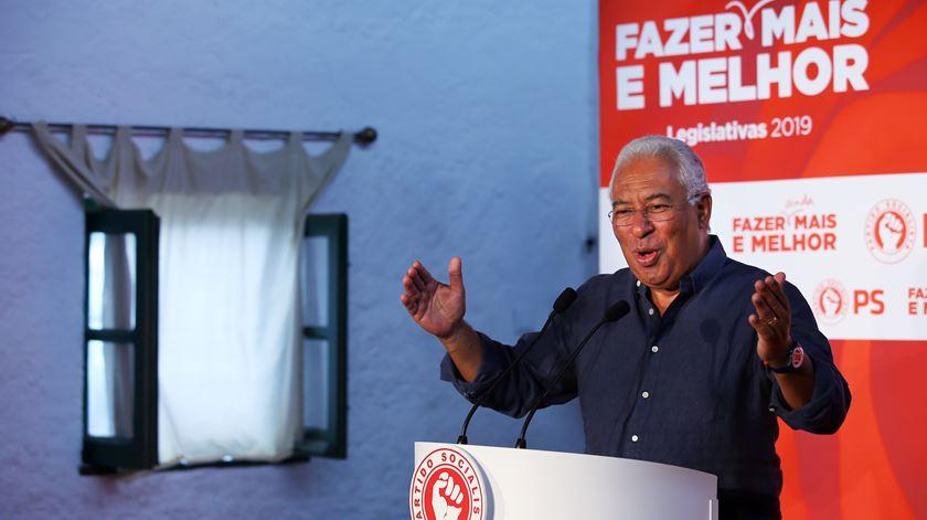 """António Costa: """"Nesta legislatura, andámos a recuperar aquilo que tinha sido destruído"""""""