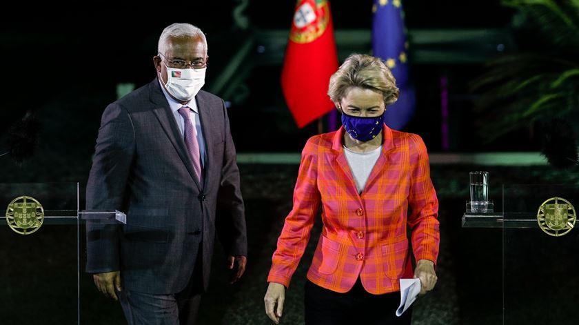 Costa e Von der Leyen apresentam plano de recuperação de Portugal e da UE