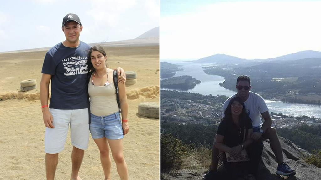 O casal dedicava o tempo livre a viajar ou a conhecer locais novos em Portugal.