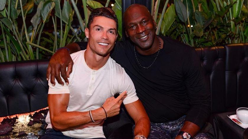 """Ronaldo e Michael Jordan juntos. """"Fizemos história"""""""