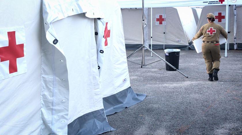 Lisboa tem um novo posto da Cruz Vermelha para realização de testes à Covid-19