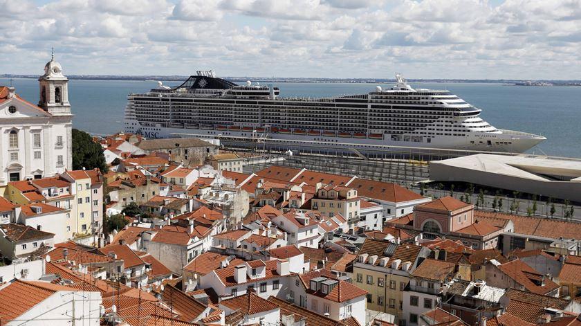 Cruzeiro em Lisboa com 1300 a bordo. Todos vão ser testados à Covid-19