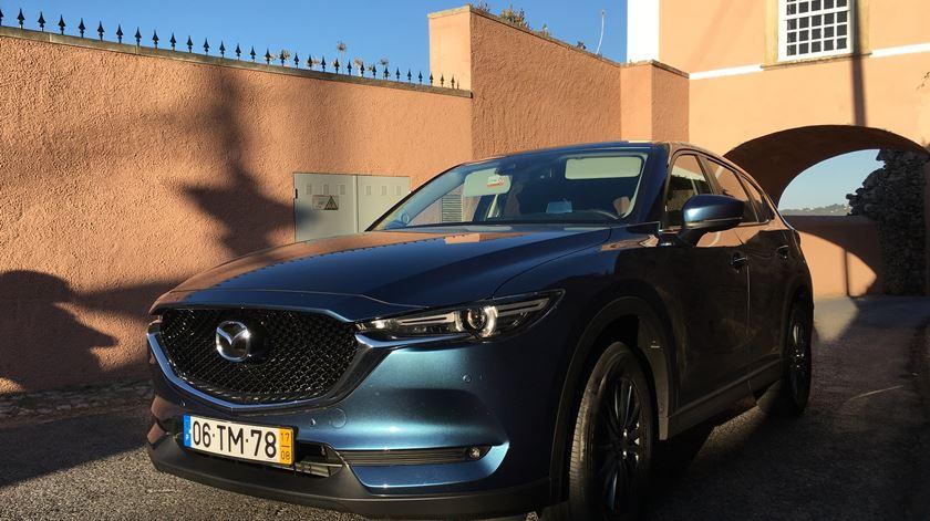 Auto-rádio - Test-drive família Silva ao Mazda CX-5 - 30/10/2017