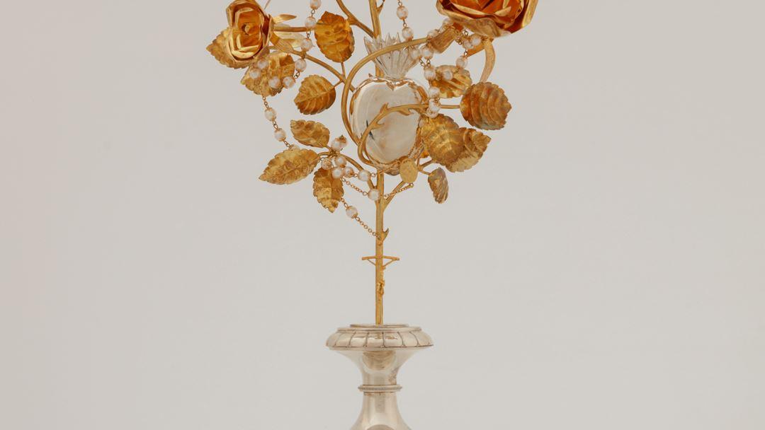 Rosas de ouro oferecidas pelo Papa Francisco. Foto: Santuário de Fátima