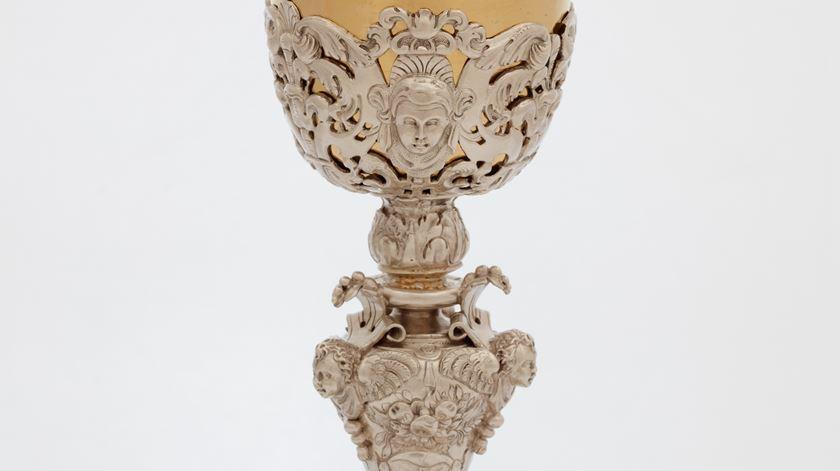 Cálice, autor desconhecido, 1610. Foto: Santuário de Fátima