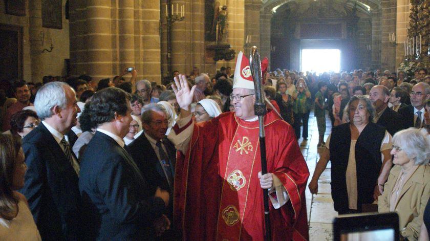 D. Francisco Senra Coelho no dia da sua ordenação episcopal, em Évora, em 2014. Foto: Rosário Silva/RR
