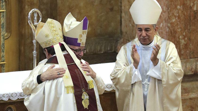 """D. Américo Aguiar ordenado bispo. """"Sempre me senti bem a fazer pontes"""""""
