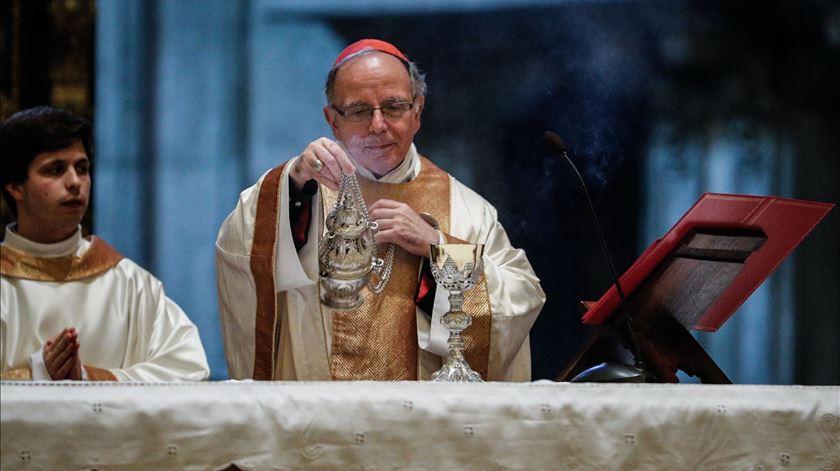 """Cardeal Patriarca. """"Continua a ser difícil"""" não poder """"comunicar diretamente com os outros"""""""