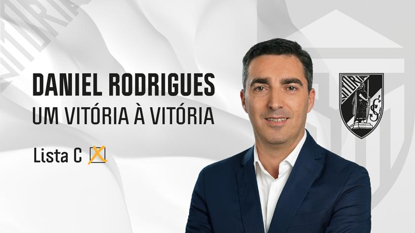 """Daniel Rodrigues quer devolver os títulos e a """"formação de elite"""" ao Vitória de Guimarães"""