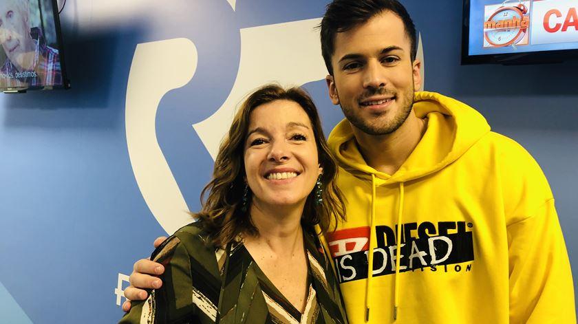 David Carreira veio apresentar o novo álbum à Manhã da Renascença