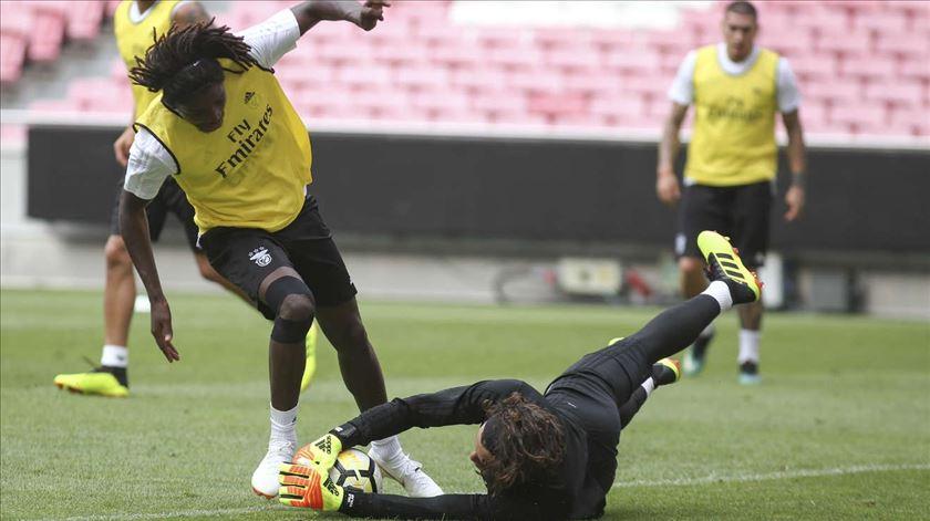 O azar bateu à porta de David Tavares. Foto: SL Benfica