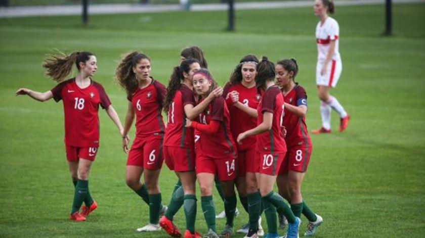 Seleção Sub-19 goleia a Suíça