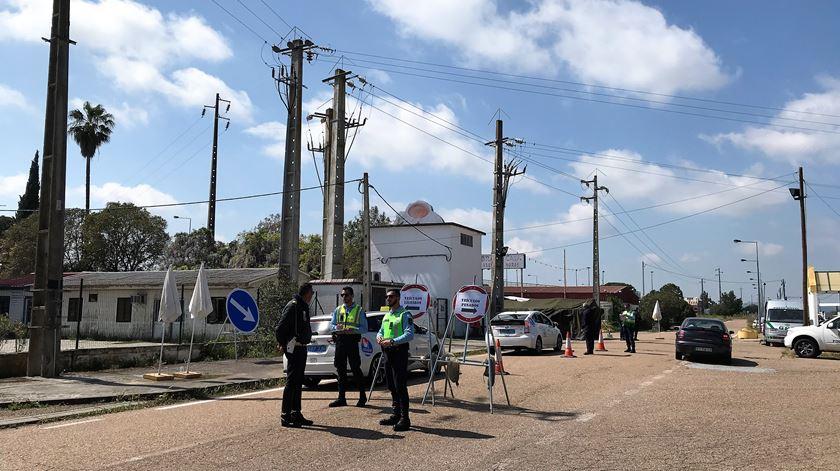 Controlo da fronteira do Caia sem incidentes graves. Quase 10 mil pessoas controladas e 199 impedidas de entrar