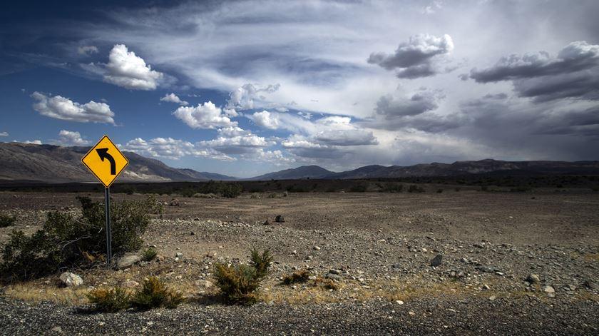 Temperatura no Vale da Morte ultrapassa os 54 graus, valor mais elevado do último século