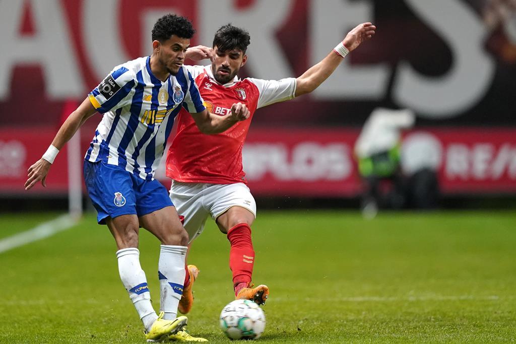 Quarto duelo da época entre Porto e Braga. Foto: Hugo Delgado/Lusa