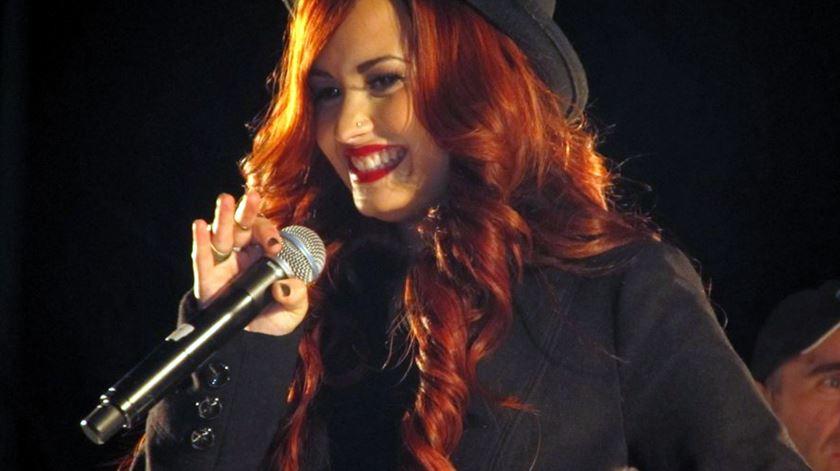 Demi Lovato vem a Portugal. Foto: DR