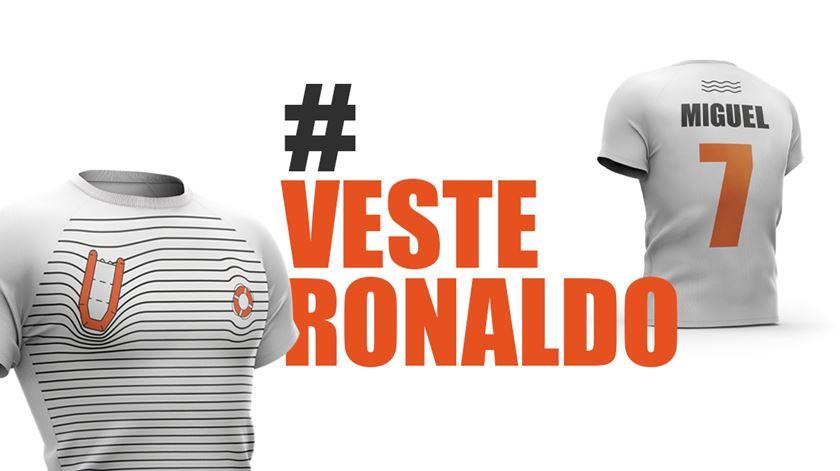 """Conselho para os Refugiados desafia Ronaldo a """"vestir a camisola"""" por Miguel Duarte"""