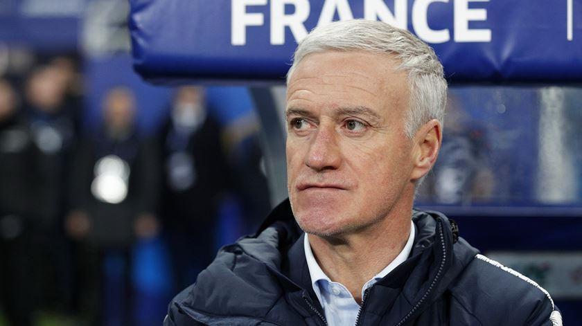 Selecionador francês falou esta segunda-feira sobre o jogo diante a Bélgica. Foto: Yoan Valat/EPA