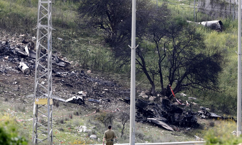 Avião de guerra israelita abatido na Síria — Vídeo