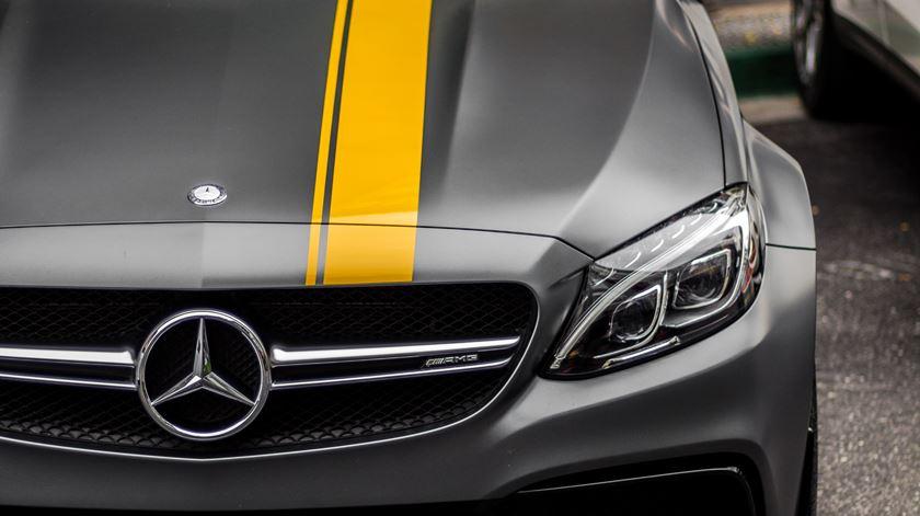 A maioria dos veículos foi fabricada na China pela Beijing Benz Automotive. Foto: Dhiva Krishna