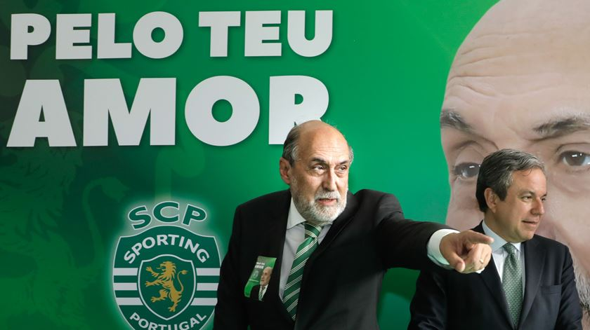 Dias Ferreira é candidato à presidência do Sporting. Foto: António Cotrim/Lusa
