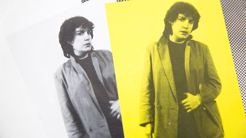 "Capa do álbum ""Dinamite"" (1982). Foto: Inês Rocha/RR"