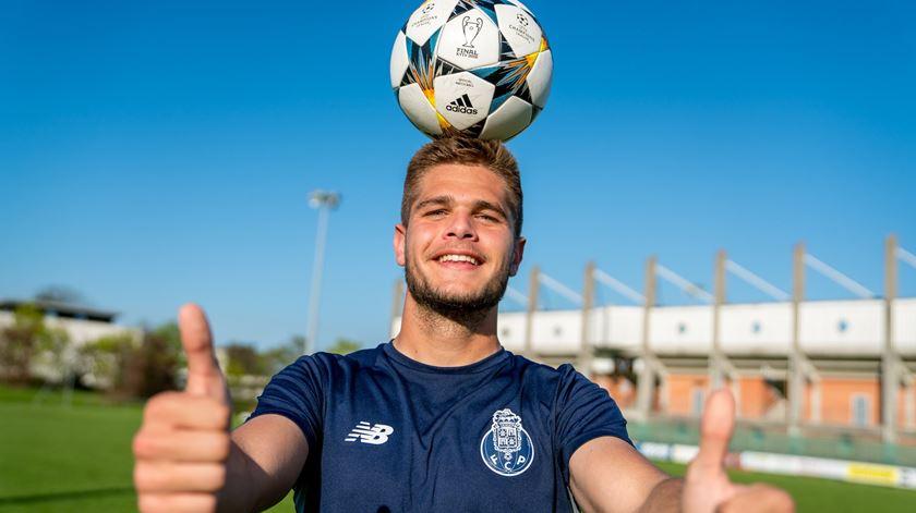 """Diogo Queirós: """"Para o ano vou estar no FC Porto outra vez"""""""