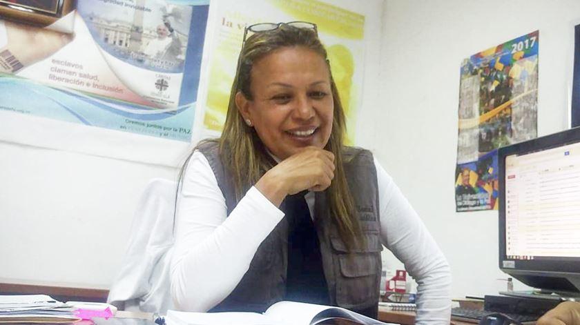 Janeth Marquez, diretora da Cáritas Venezuela. Foto: Facebook Cáritas Venezuela